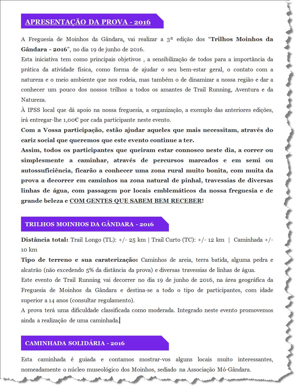 APRESENTAÇÃO DA PROVA - 2016_01